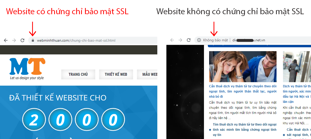 Quảng cáo SSL